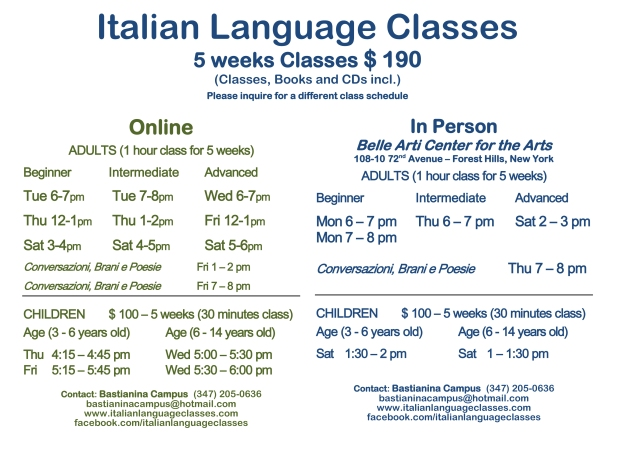 January February 2016 Classes