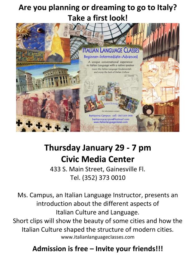 Flyer Civic Media Center January 29 2015