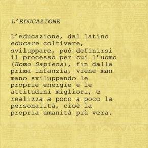 L'Educazione