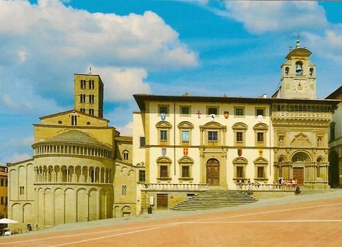 Piazza Grande Arezzo