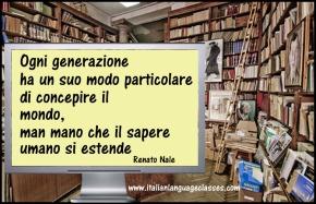 Renato Nale Aforisma Ogni Generazione