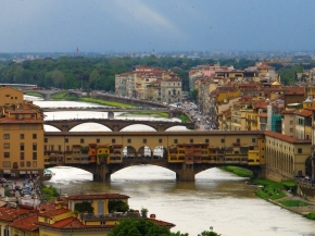 Old Bridge Florence Ponte Vecchio Firenze
