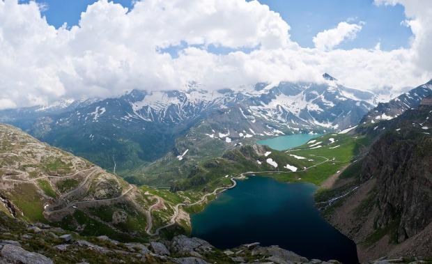 Piemonte Aosta Gran Paradiso National Park Colle del Nivolet