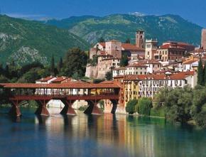 Alpini Bridge Bassano del Grappa