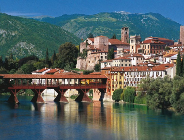 Alpini Bridge Bassano del Grappa