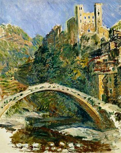 Dolceacqua Bridge Liguria Monet