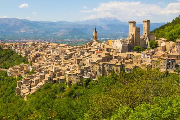 Pacentro Medieval Village Abruzzo