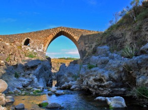 Sicily Bridge of the Saracens