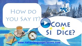 Italian Greetings How do you say it? Come si dice? Good Night! Buona Notte!