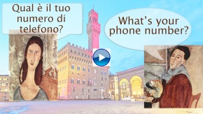 Qual è il tuo numero di telefono What's your phone number?