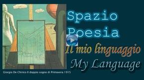 Il mio linguaggio Spazio Poesia